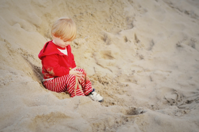 Braydin in Sand