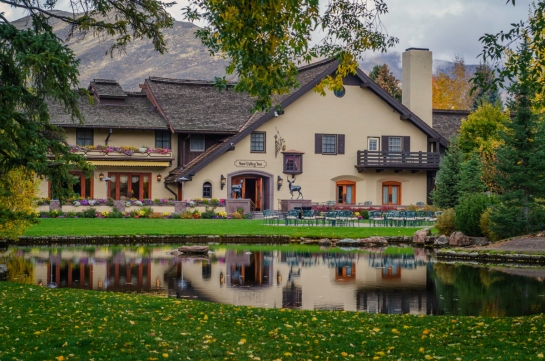 Sun Valley Resort Idaho Inn Pond