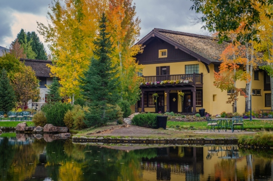 Sun Valley Resort Idaho Pond Fall