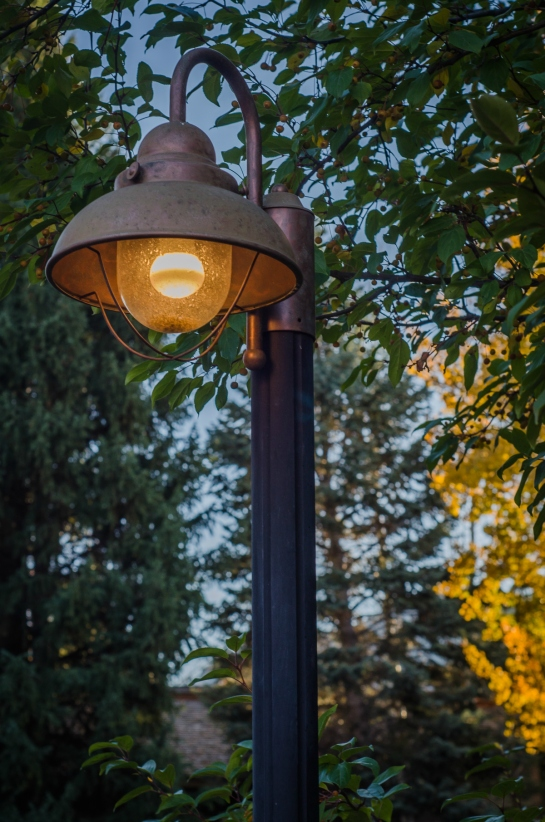 Sun Valley Resort Lampost Idaho